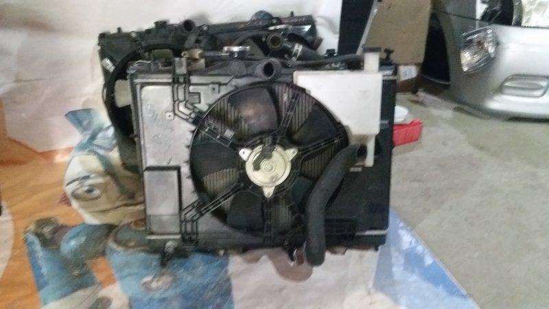 Радиатор Nissan Tiida C11 HR15 (б/у)