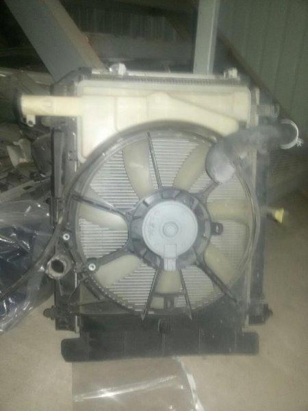 Радиатор Toyota Ractis NCP100 1NZ (б/у)
