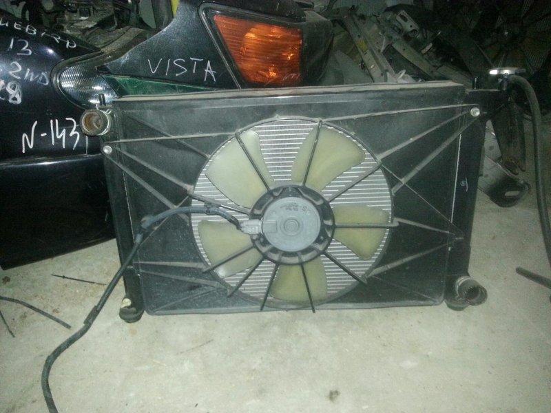 Радиатор Toyota Wish ZNE10 1ZZ (б/у)