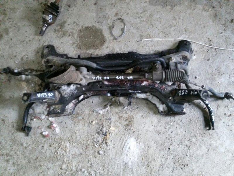 Рейка рулевая Toyota Vitz SCP90 2SZ (б/у)