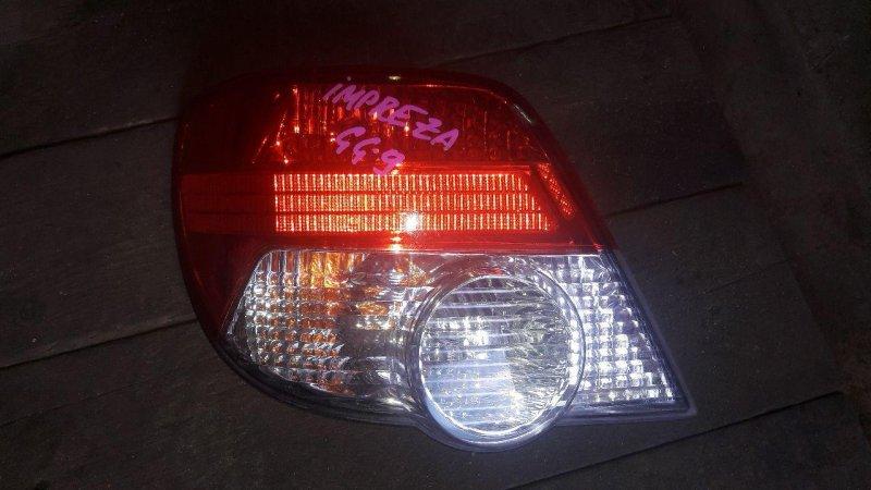 Стоп Subaru Impreza GG2 задний левый (б/у)
