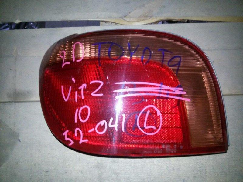 Стоп Toyota Vitz SCP10 задний левый (б/у)