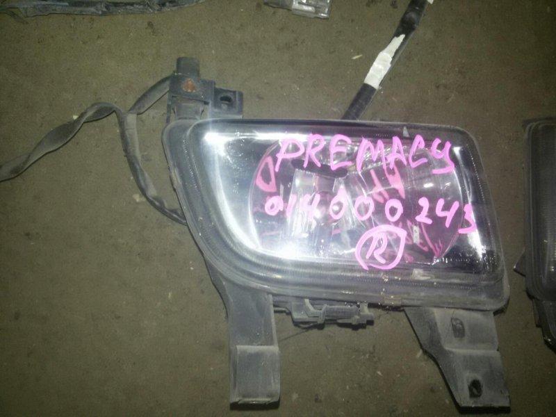 Туманка Mazda Premacy CP8W правая (б/у)