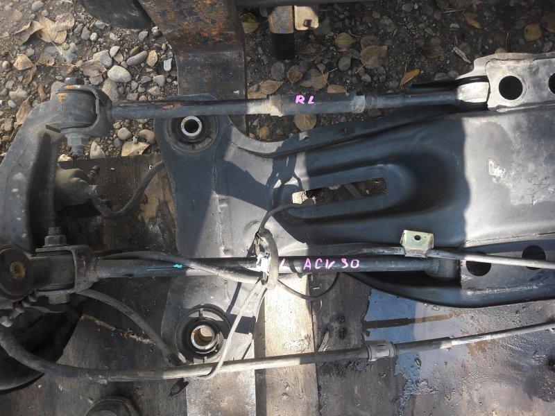Тяга подвески Toyota Camry ACV30 2AZ 2003 задняя левая (б/у)