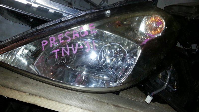 Фара Nissan Presage U31 передняя левая (б/у)
