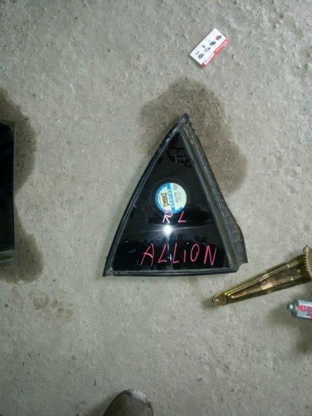 Форточка двери Toyota Allion NZT240 задняя левая (б/у)