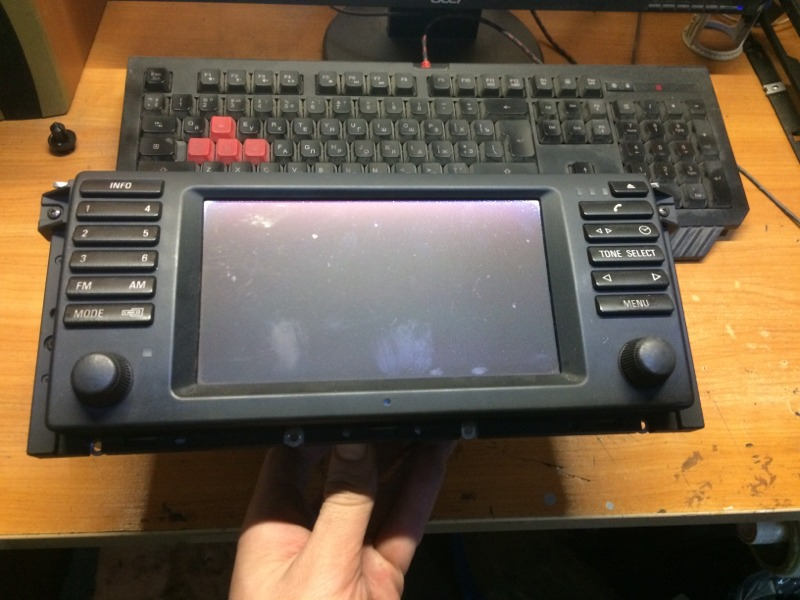 Монитор Bmw 5-Series E39 M54B30 2001 (б/у)