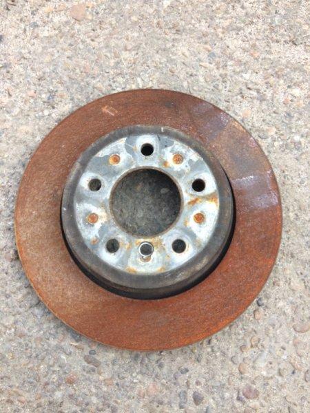 Диск тормозной Bmw 5-Series E61 N52B25 2005 задний левый (б/у)