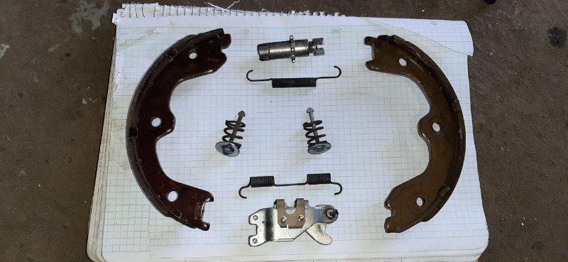 Механизм стояночного тормоза Nissan Teana J32 VQ25 2013 задний левый (б/у)