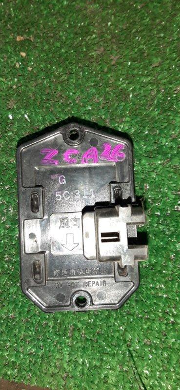 Резистор Toyota Rav4 ZCA26 1ZZ (б/у)