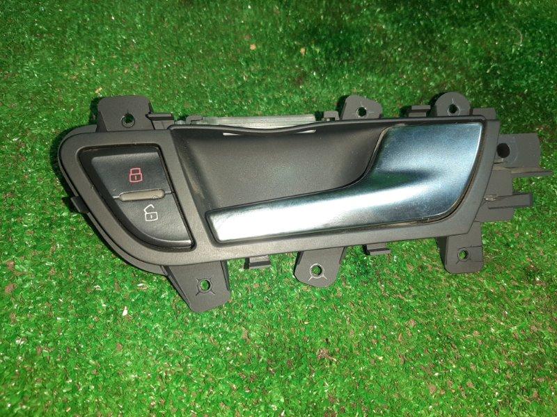 Ручка двери Audi A4 B8 8K передняя правая (б/у)