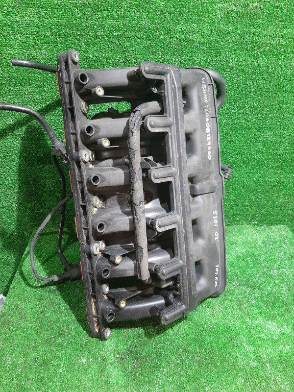 Коллектор впускной Bmw 5-Series E60 M54B30 2004 (б/у)