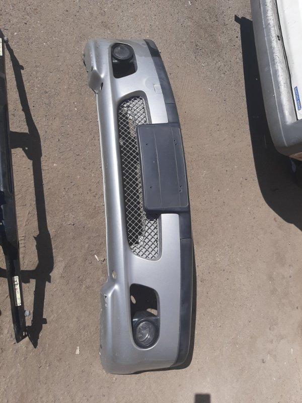 Бампер Bmw 3-Series E46 M54B22 2002 передний (б/у)