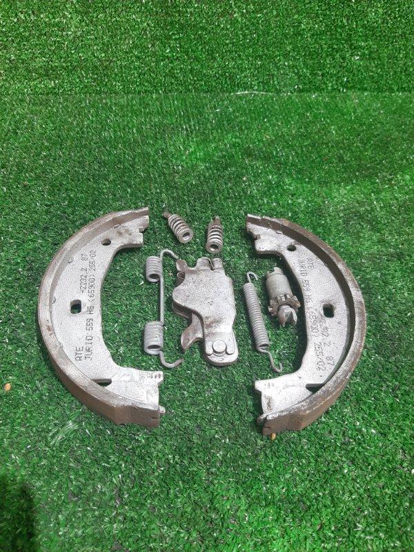Механизм стояночного тормоза Bmw 3-Series E46 M54B22 2002 задний правый (б/у)