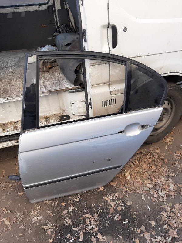 Дверь Bmw 3-Series E46 M54B22 2002 задняя левая (б/у)