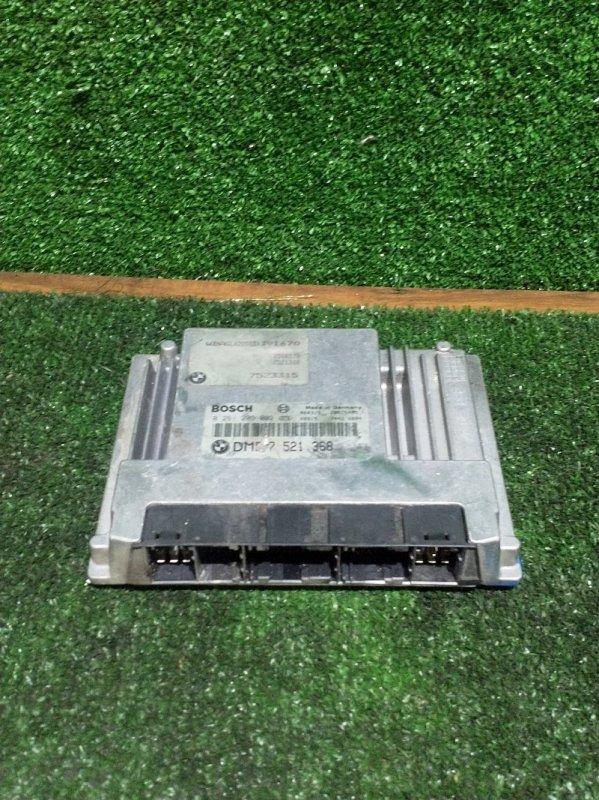 Блок управления двс Bmw 7-Series E65 N62B44 2002 (б/у)