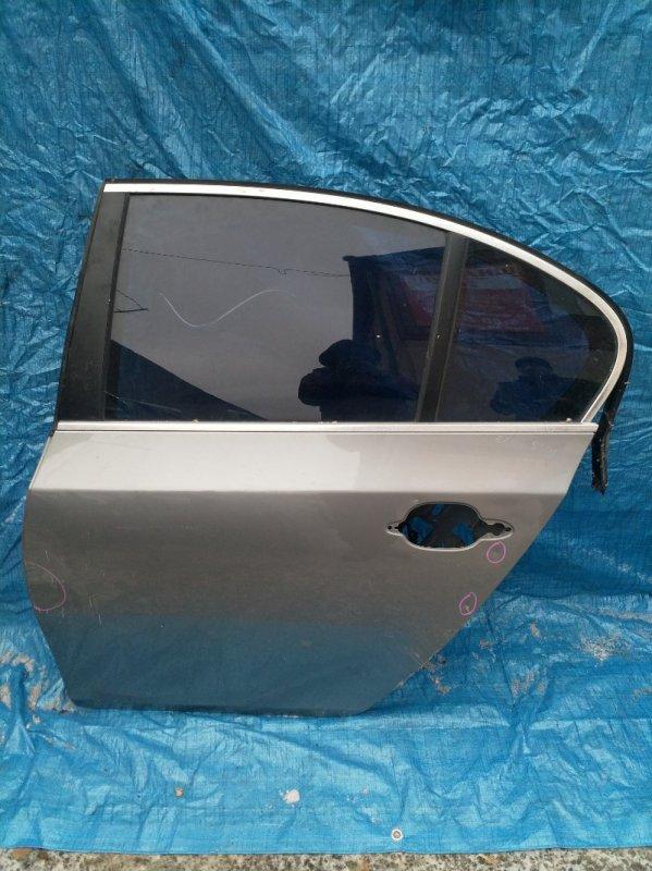 Дверь Bmw 5-Series E60 M54B30 2004 задняя левая (б/у)