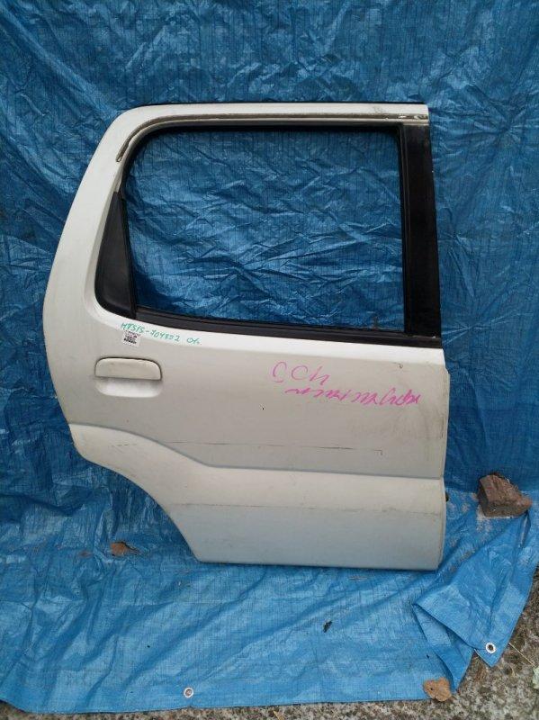 Дверь Suzuki Swift HT51S M13A 2001 задняя правая (б/у)