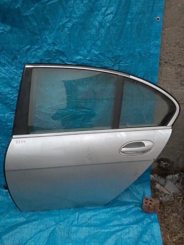 Дверь Bmw 7-Series E65 N62B44 2002 задняя левая (б/у)