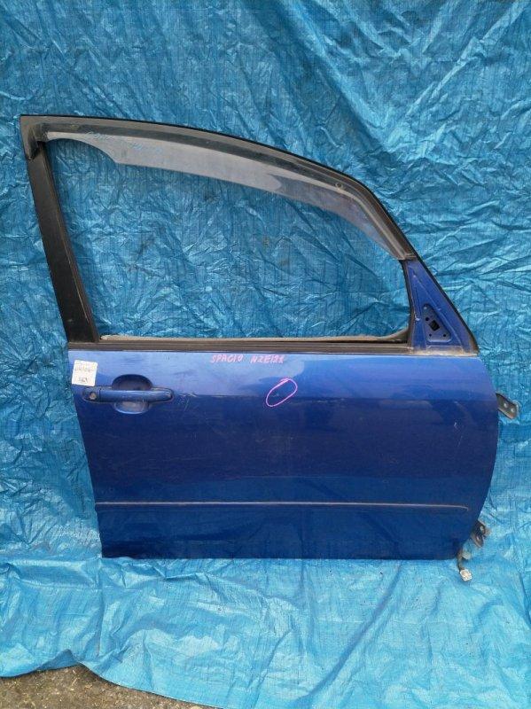 Дверь Toyota Spacio NZE121 передняя правая (б/у)