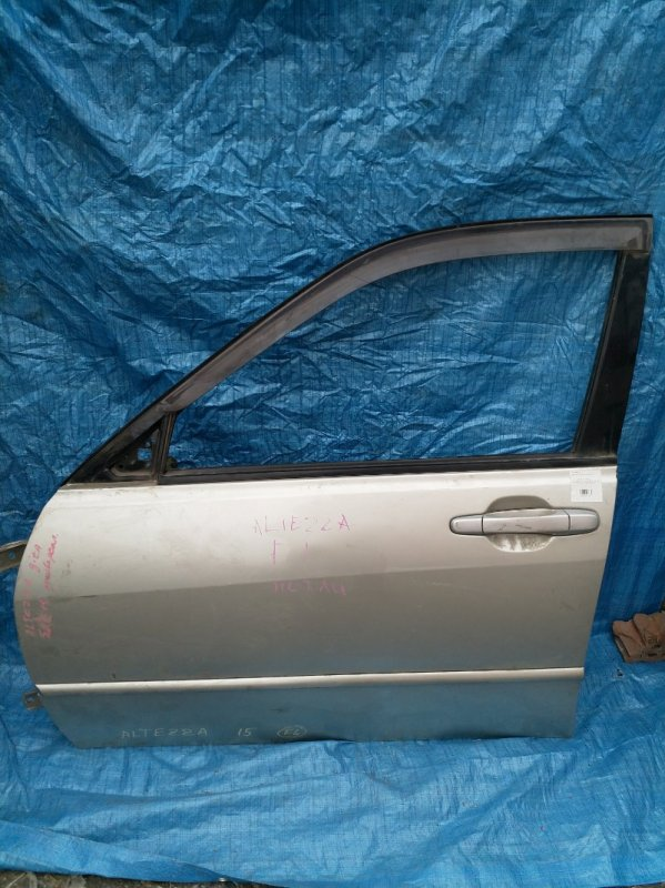 Дверь Toyota Altezza GXE10 передняя левая (б/у)