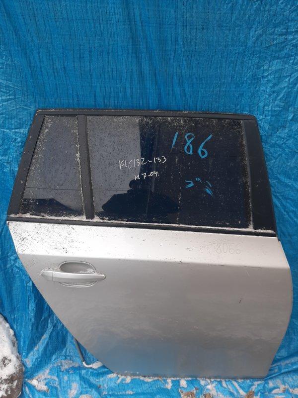Дверь Bmw 5-Series E61 N52B25 2005 задняя правая (б/у)