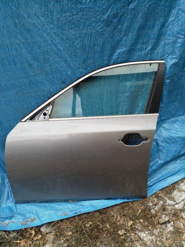 Дверь Bmw 5-Series E60 M54B30 2004 передняя левая (б/у)