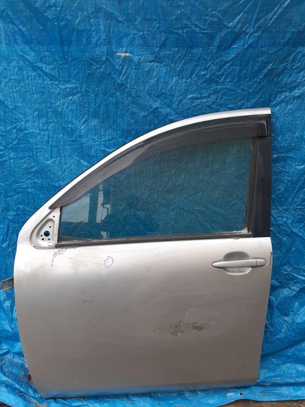 Дверь Toyota Sienta NCP81 передняя левая (б/у)