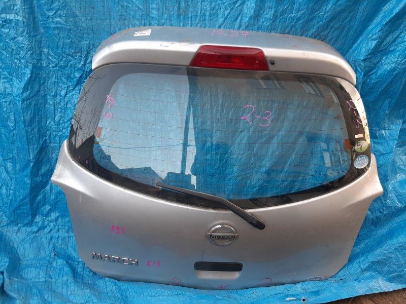 Дверь 5-я Nissan March K13 (б/у)