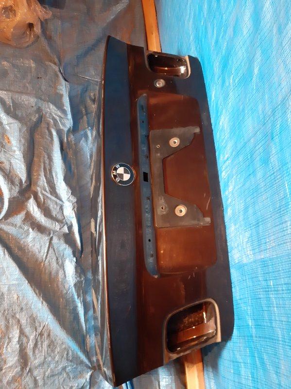 Крышка багажника Bmw 3-Series E46 M54B22 2002 (б/у)