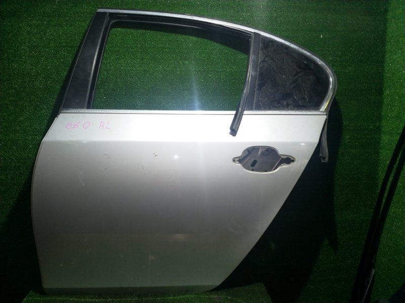 Дверь Bmw 5-Series E60 M54B30 2003 задняя левая (б/у)