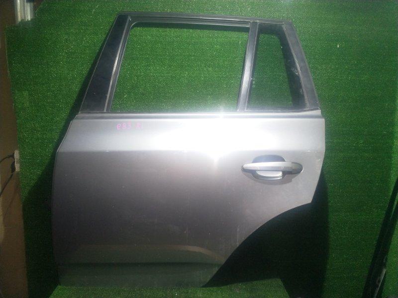Дверь Bmw X3 E83 N52B25 2008 задняя левая (б/у)