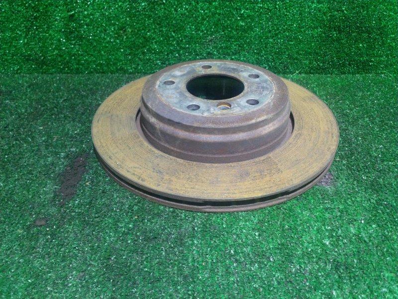 Диск тормозной Bmw 5-Series E60 M54B30 2003 задний левый (б/у)