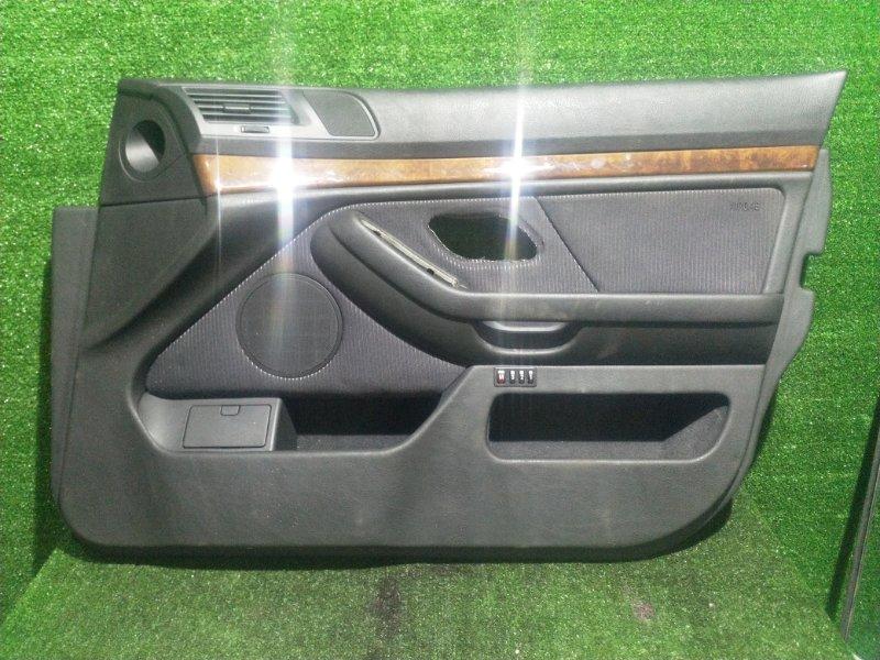 Обшивка дверей Bmw 5-Series E39 M54B25 2001 передняя правая (б/у)