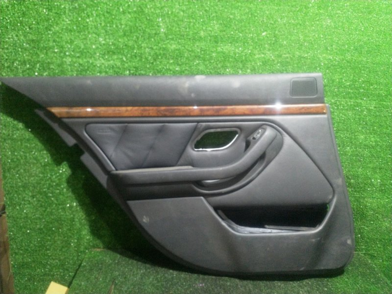 Обшивка дверей Bmw 5-Series E39 M54B25 2001 задняя левая (б/у)