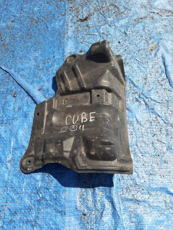 Защита двс Nissan Cube Z11 HR15 правая (б/у)