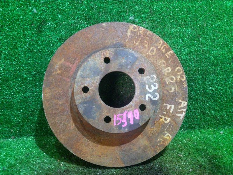 Диск тормозной Nissan Presage TU30 передний правый (б/у)