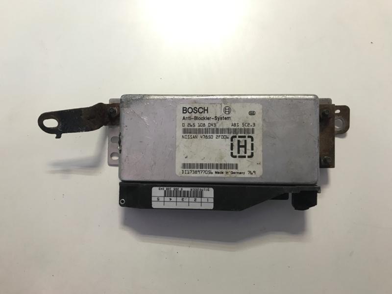 Блок управления abs Nissan Primera (б/у)