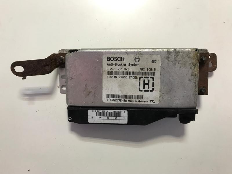 Блок управления abs Nissan Primera P11E (б/у)