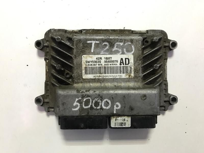 Электронный блок управления Chevrolet Aveo T250 2006 (б/у)