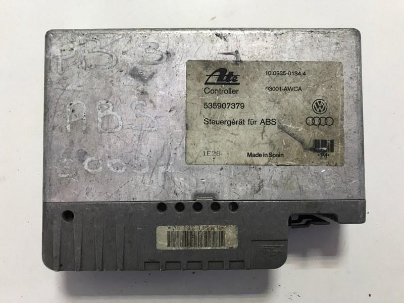 Блок управления abs Volkswagen Passat B3 1988 (б/у)