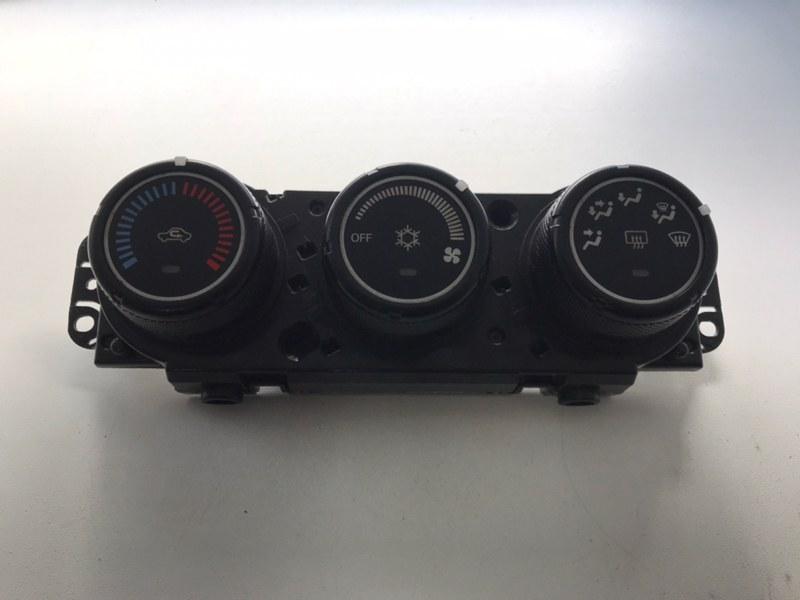 Блок управления климатической установкой Mitsubishi Lancer X (CX CY) 2008 (б/у)