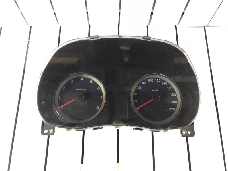 Приборная панель Hyundai Solaris (б/у)