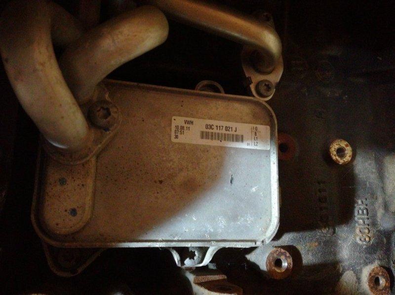 Теплообменник Skoda Octavia A5 CAXA (б/у)