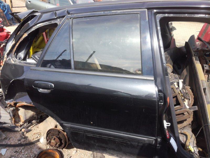 Стекло дверное Mazda 323 BJ заднее правое (б/у)