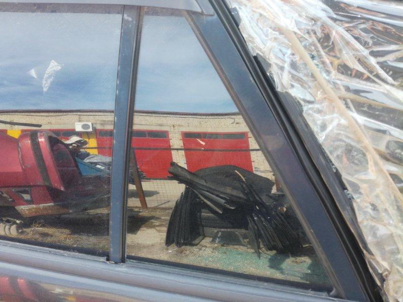 Стекло дверное Mazda 323 BJ заднее левое (б/у)