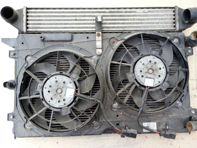 Диффузор радиатора Volkswagen Sharan 1.9TDI 1998 (б/у)