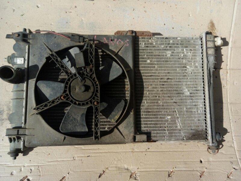 Диффузор радиатора Chevrolet Lanos 1998 (б/у)