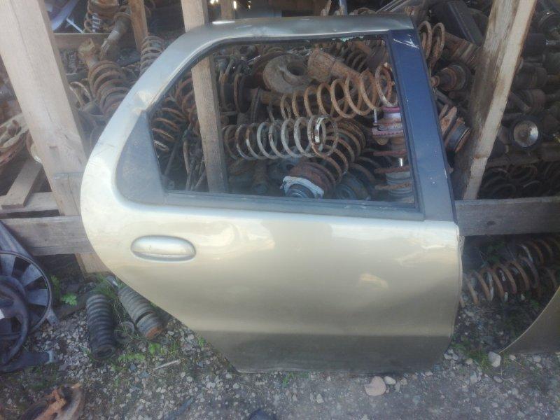 Дверь Fiat Albea задняя правая (б/у)