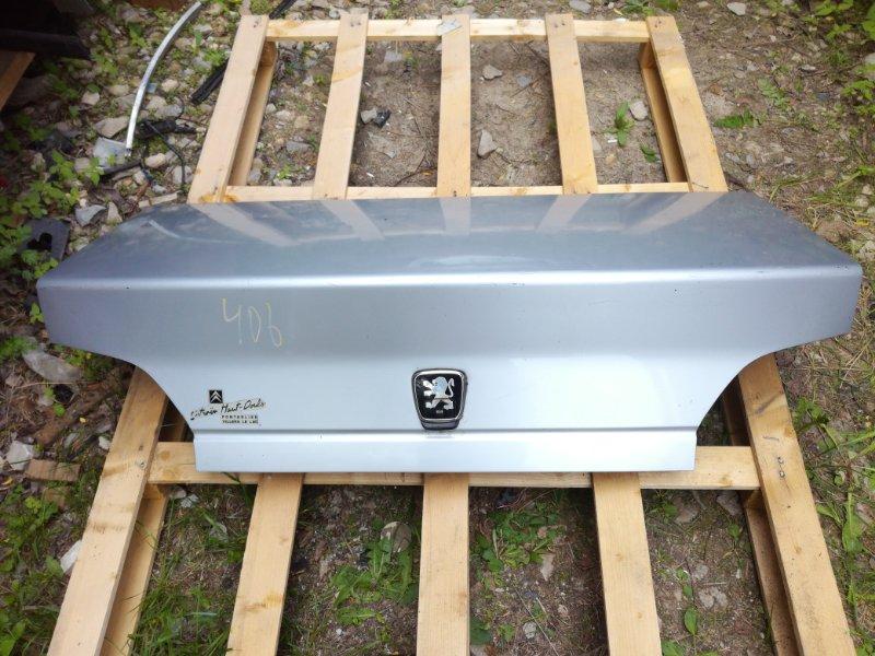 Крышка багажника Peugeot 406 (б/у)